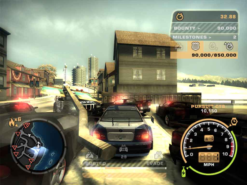 Buat Cheat Never Busted Most Wanted PC
